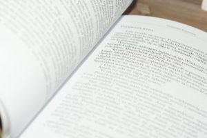 Przygotowanie książek dodruku - projekt ef ef, skłąd dtp