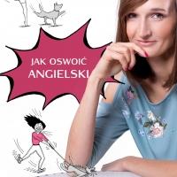 """""""Jak oswoić angielski"""" Anna Matyja — okładka"""